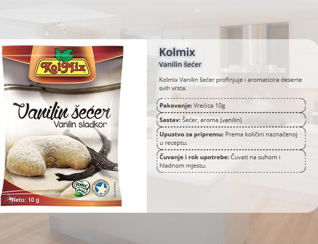 vanilin-secer
